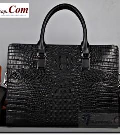 Túi xách da thật vân cá sấu cao cấp chính hãng Joseph Amani