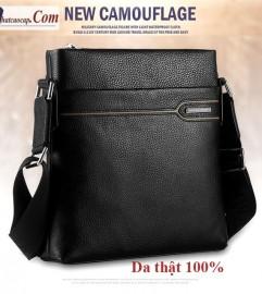 Túi đeo chéo nam da bò 100% hiệu SE (SCHWARZ ETIENNE)